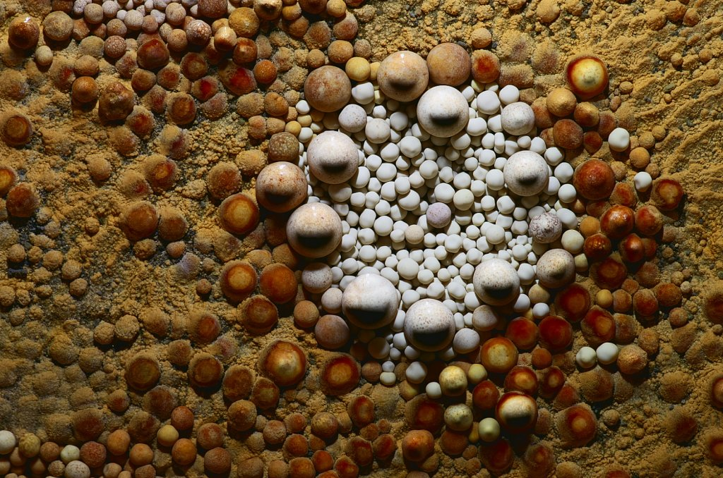 Underground pearls